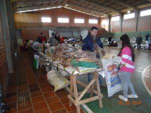 40139863_1830694297022038_8492540251443560448_n-300x225 Mais uma entrega de alimentos pelo Programa de Aquisição de Alimentos-PAA