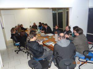 40206212_530229497420942_3164586196374388736_n-300x225 Poder Executivo Municipal de Salto do Jacuí em reunião com o Poder Legislativo Municipal.