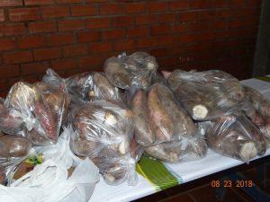 40243180_242588559667145_7343135388749266944_n-300x225 Mais uma entrega de alimentos pelo Programa de Aquisição de Alimentos-PAA